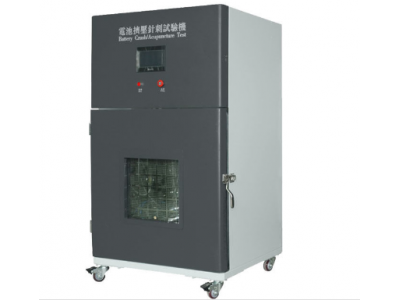 Vertical Pressure Structure Battery Crush Nail Penetration Test Equipment High Efficiency