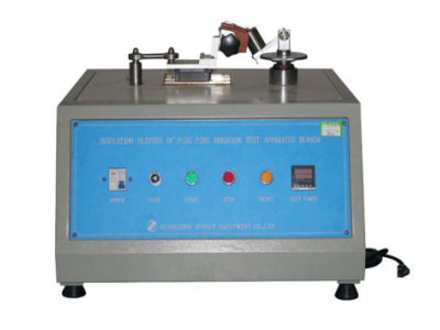 IEC Test Equipment , IEC60884 Clause 24.7 Insulation Sleeves Plug Pins Abrasion Test Apparatus