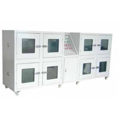 IEC62133 Battery Testing Equipment , 8 Door Stainless Steel Explosion Proof Test Chamber