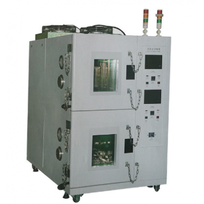 Touch Screen Battery Testing Equipment , Double - Layered High Low Temperature Chamber