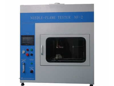 IEC60695-11-5 Needle - Flame Tester PLC Control , 7 Inch Color Touch Screen Operation , Infrared Remote Control