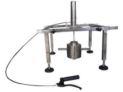 100mm Drop Test Device With Hardness 40I - 50I RHD Galvanized Steel Hammer