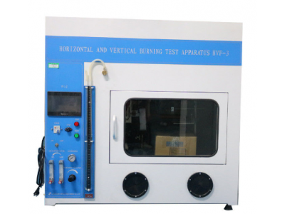 Horizontal / Vertical Flame Test Apparatus PLC Control 7 Inch Color Touch Screen Operation