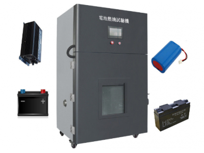 Stainless Steel Battery Burning And Ejection Test Equipment with PLC Touch Screen