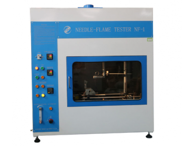 Electrical Control Needle - Flame Test Equipment For Flammability Testing Button Operation Air Vent