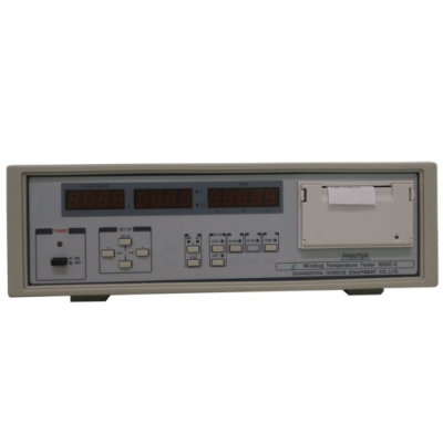 IEC60335-1 clause 11 Hot Windind Temperature Tester Double Channel 0.1~20~200~2000Ω Response Time<30s